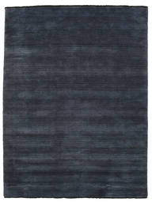 Handloom Fringes - Tummansininen Matto 160X230 Moderni Tummansininen (Villa, Intia)