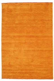 Handloom Fringes - Oranssi Matto 160X230 Moderni Keltainen/Vaaleanruskea/Oranssi (Villa, Intia)