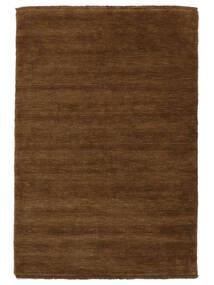 Handloom Fringes - Ruskea Matto 160X230 Moderni Ruskea (Villa, Intia)