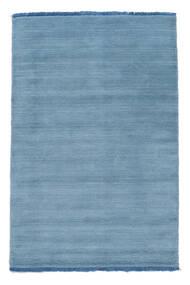 Handloom Fringes - Vaaleansininen Matto 100X160 Moderni Vaaleansininen (Villa, Intia)