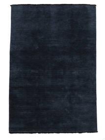 Handloom Fringes - Tummansininen Matto 140X200 Moderni Tummansininen/Sininen (Villa, Intia)