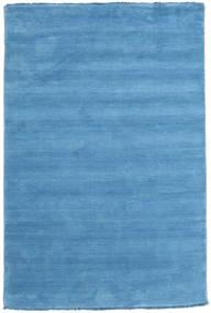 Handloom Fringes - Vaaleansininen Matto 120X180 Moderni Vaaleansininen/Sininen (Villa, Intia)