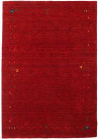 Gabbeh Loom Frame - Punainen Matto 140X200 Moderni Tummanpunainen/Punainen (Villa, Intia)