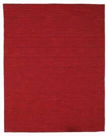Kelim Loom - Tummanpunainen Matto 200X250 Moderni Käsinkudottu Punainen (Villa, Intia)