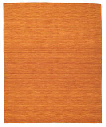 Kelim Loom - Oranssi Matto 250X300 Moderni Käsinkudottu Oranssi Isot (Villa, Intia)