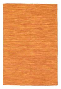 Kelim Loom - Oranssi Matto 120X180 Moderni Käsinkudottu Oranssi (Villa, Intia)