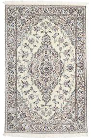 Nain 6La Matto 110X176 Itämainen Käsinsolmittu Beige/Vaaleanharmaa (Villa/Silkki, Persia/Iran)
