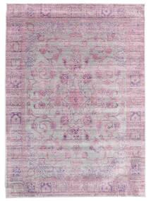 Maharani - Harmaa/Roosa Matto 160X230 Moderni Vaaleanpunainen/Vaaleanvioletti ( Turkki)