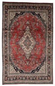 Hamadan Shahrbaf Patina Matto 208X328 Itämainen Käsinsolmittu Vaaleanruskea/Punainen (Villa, Persia/Iran)