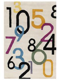 Lucky Numbers - Vaalea Matto 120X180 Moderni Beige/Vaaleanharmaa (Villa, Intia)