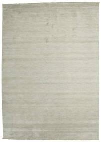 Handloom Fringes - Harmaa/Vaaleanvihreä Matto 250X350 Moderni Vaaleanharmaa/Vaaleanruskea Isot (Villa, Intia)