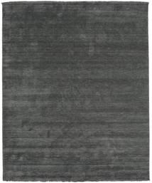 Handloom Fringes - Tummanharmaa Matto 250X300 Moderni Tummanvihreä/Tummanvihreä Isot (Villa, Intia)