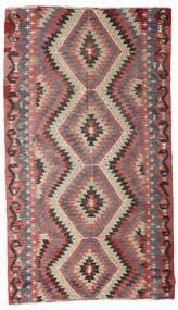 Kelim Semiantiikki Turkki Matto 165X289 Itämainen Käsinkudottu Ruskea/Tummanruskea (Villa, Turkki)