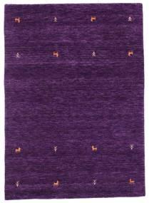 Gabbeh Loom Two Lines - Violetti Matto 140X200 Moderni Tummanvioletti (Villa, Intia)
