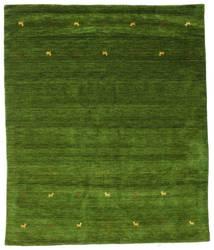 Gabbeh Loom Two Lines - Vihreä Matto 240X290 Moderni Tummanvihreä/Oliivinvihreä (Villa, Intia)