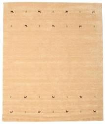 Gabbeh Loom Two Lines - Beige Matto 0X0 Moderni Vaaleanruskea/Keltainen (Villa, Intia)