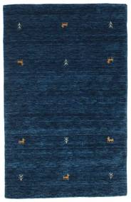 Gabbeh Loom Two Lines - Tummansininen Matto 100X160 Moderni Tummansininen (Villa, Intia)
