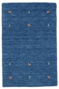 Gabbeh Loom Two Lines - Sininen Matto 100X160 Moderni Tummansininen/Sininen (Villa, Intia)