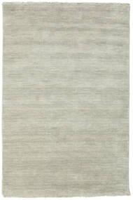 Handloom Fringes - Harmaa/Vaaleanvihreä Matto 120X180 Moderni Vaaleanharmaa/Vaaleanruskea (Villa, Intia)