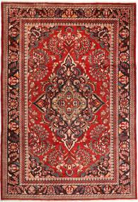 Lillian Matto 228X340 Itämainen Käsinsolmittu Tummanpunainen/Ruoste (Villa, Persia/Iran)