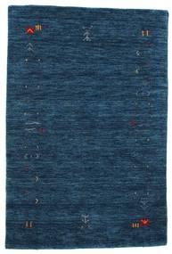Gabbeh Loom Frame - Tummansininen Matto 100X160 Moderni Tummansininen (Villa, Intia)
