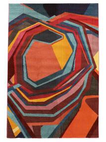 Duet Matto 160X230 Moderni Punainen/Tummanpunainen ( Turkki)