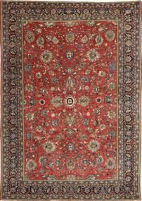 Sarough Patina Matto 236X347 Itämainen Käsinsolmittu Tummanpunainen/Tummanharmaa (Villa, Persia/Iran)