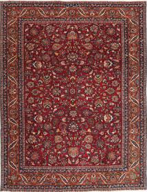 Mashad Patina Matto 240X325 Itämainen Käsinsolmittu Tummanpunainen/Tummanharmaa (Villa, Persia/Iran)