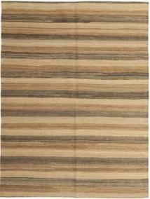 Kelim Moderni Matto 149X200 Moderni Käsinkudottu Vaaleanruskea/Tummanbeige (Villa, Persia/Iran)