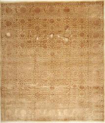 Tabriz Royal Magic Matto 254X292 Itämainen Käsinsolmittu Beige/Keltainen/Tummanbeige Isot ( Intia)