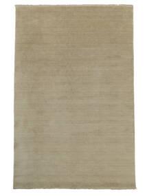 Handloom Fringes - Greige Matto 300X400 Moderni Vaaleanharmaa Isot (Villa, Intia)