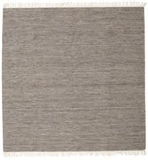 Melange - Ruskea Matto 300X300 Moderni Käsinkudottu Neliö Vaaleanharmaa/Tummanharmaa Isot (Villa, Intia)