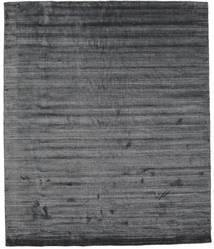 Bamboo Silkki Loom - Charcoal Matto 250X300 Moderni Tummanharmaa/Violetti Isot ( Intia)