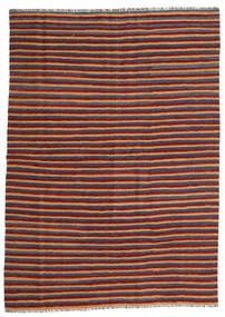 Kelim Matto 172X240 Itämainen Käsinkudottu Tummanpunainen/Sininen (Villa, Persia/Iran)