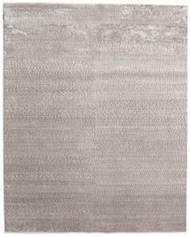 Himalaya Bambu Silkki Matto 247X310 Moderni Käsinsolmittu Vaaleanharmaa ( Intia)