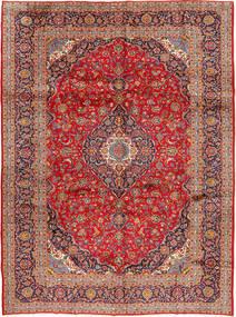 Keshan Matto 298X397 Itämainen Käsinsolmittu Ruoste/Tummanpunainen Isot (Villa, Persia/Iran)