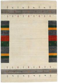 Loribaf Loom Designer - Beige Matto 160X230 Moderni Beige/Tummanbeige (Villa, Intia)