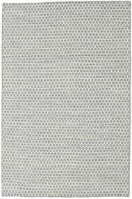 Kelim Honey Comb - Harmaa Matto 120X180 Moderni Käsinkudottu Vaaleanharmaa/Beige (Villa, Intia)