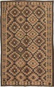Kelim Matto 148X251 Itämainen Käsinkudottu Ruskea/Vaaleanruskea/Tummanruskea (Villa, Persia/Iran)