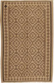 Kelim Matto 161X251 Itämainen Käsinkudottu Vaaleanruskea/Ruskea (Villa, Persia/Iran)