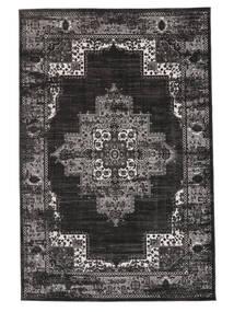 Vintage Vega - Anthracite/Harmaa Matto 160X230 Moderni Musta/Tummanharmaa ( Turkki)