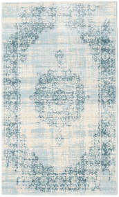 Jinder - Cream/Vaalea Sininen Matto 100X160 Moderni Vaaleansininen/Beige ( Turkki)