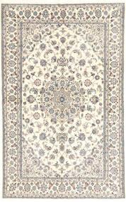 Nain 6La Matto 135X218 Itämainen Käsinsolmittu Vaaleanharmaa/Beige (Villa/Silkki, Persia/Iran)
