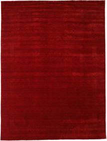 Loribaf Loom Beta - Punainen Matto 290X390 Moderni Tummanpunainen Isot (Villa, Intia)