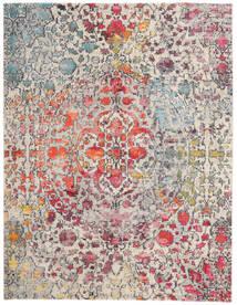 Kaleidoscope - Multi Matto 240X300 Moderni Vaaleanharmaa/Tummanruskea ( Turkki)