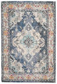 Leia - Sininen Matto 160X230 Moderni Vaaleanharmaa/Vaaleanvihreä ( Turkki)