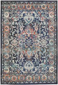 Elnath Matto 120X170 Moderni Musta/Vaaleanharmaa ( Turkki)