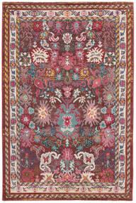 Mirzam - Tumma Violetti Matto 200X300 Moderni Tummanpunainen/Ruskea ( Turkki)