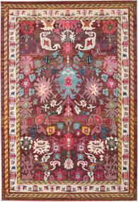 Mirzam - Tumma Violetti Matto 240X340 Moderni Tummanpunainen/Ruskea ( Turkki)