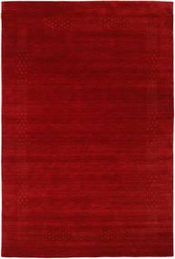 Loribaf Loom Beta - Punainen Matto 190X290 Moderni Tummanpunainen/Ruoste (Villa, Intia)